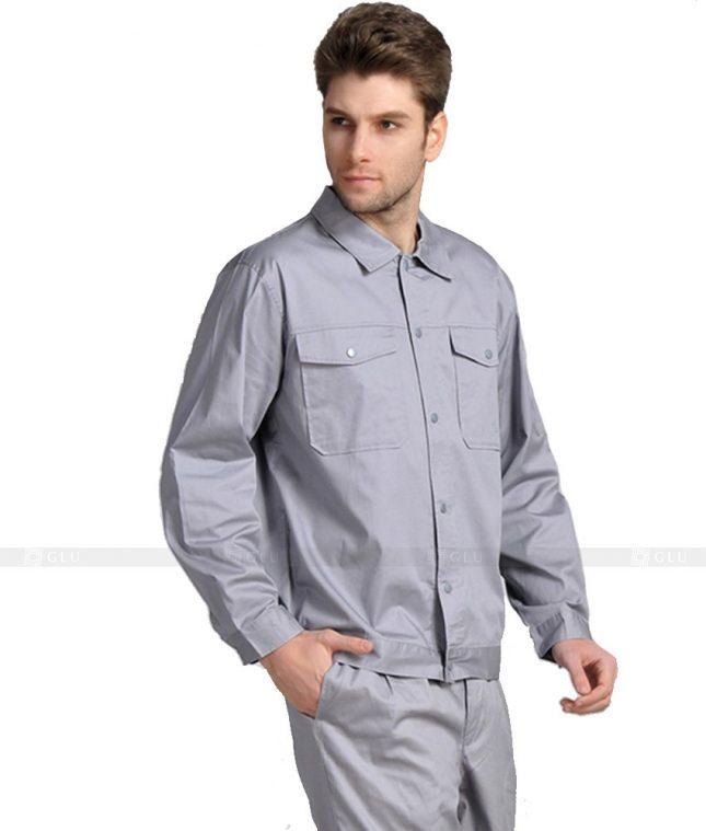 Dong phuc cong nhan GLU CN1000 mẫu áo công nhân