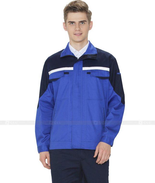 Dong phuc cong nhan GLU CN1005 mẫu áo công nhân