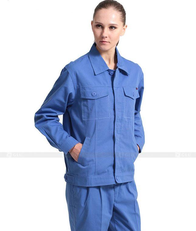 Dong phuc cong nhan GLU CN1007 mẫu áo công nhân