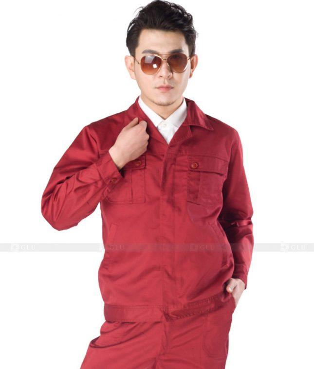 Dong phuc cong nhan GLU CN1008 mẫu áo công nhân