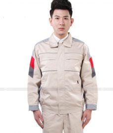 Dong phuc cong nhan GLU CN1009 Quần Áo Đồng Phục Công Nhân