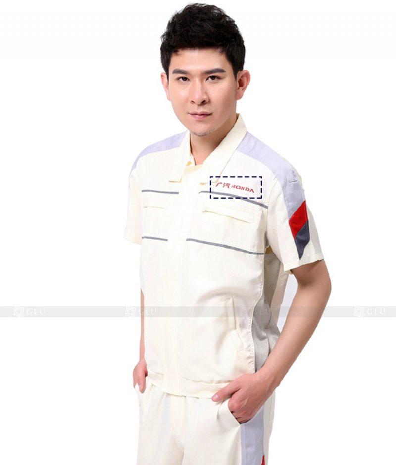 Dong phuc cong nhan GLU CN1011