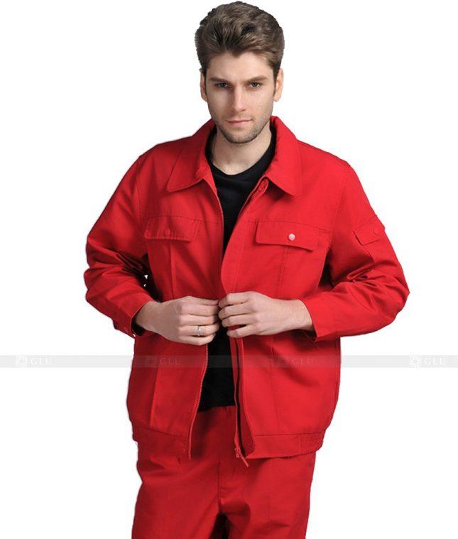 Dong phuc cong nhan GLU CN1018 mẫu áo công nhân