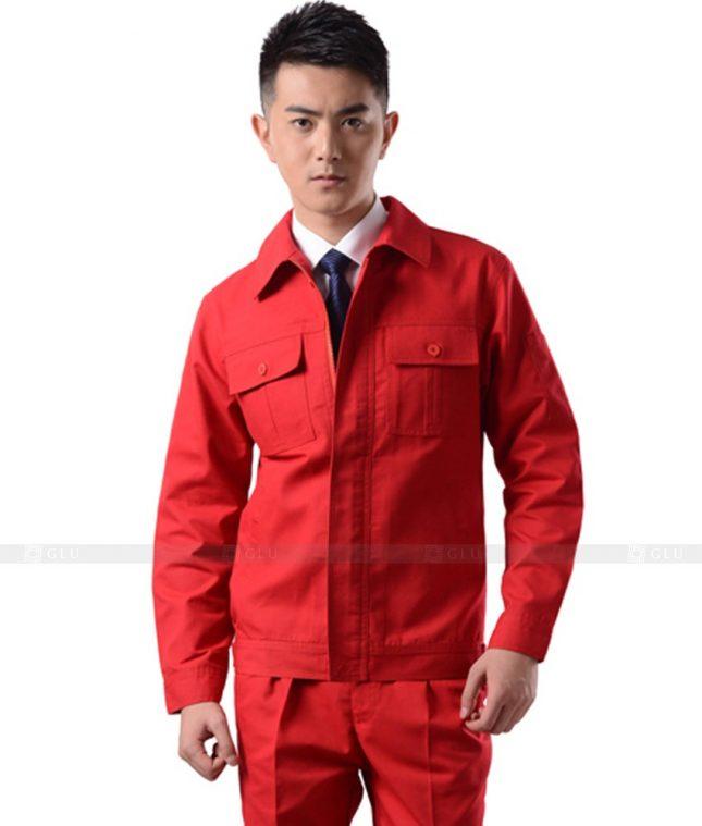 Dong phuc cong nhan GLU CN1020 mẫu áo công nhân