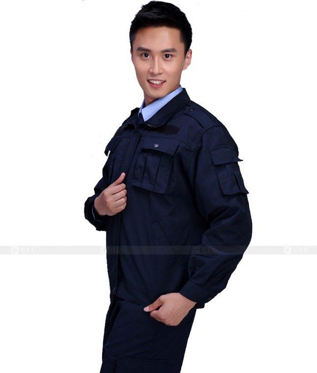 Dong phuc cong nhan GLU CN1024 mẫu áo công nhân