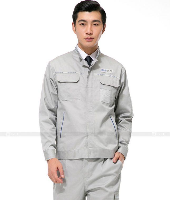 Dong phuc cong nhan GLU CN1026 mẫu áo công nhân