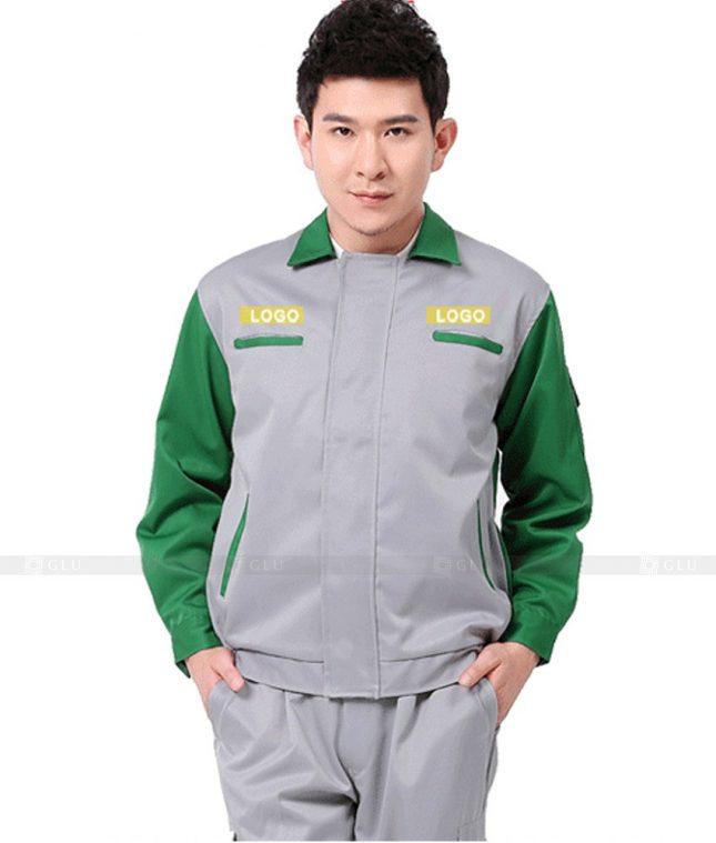 Dong phuc cong nhan GLU CN1028 mẫu áo công nhân
