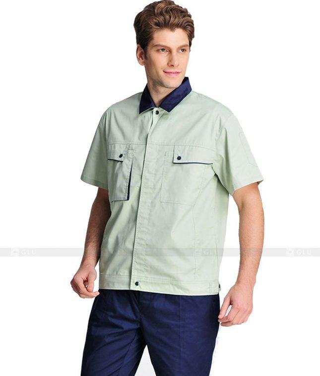 Dong phuc cong nhan GLU CN1029 mẫu áo công nhân