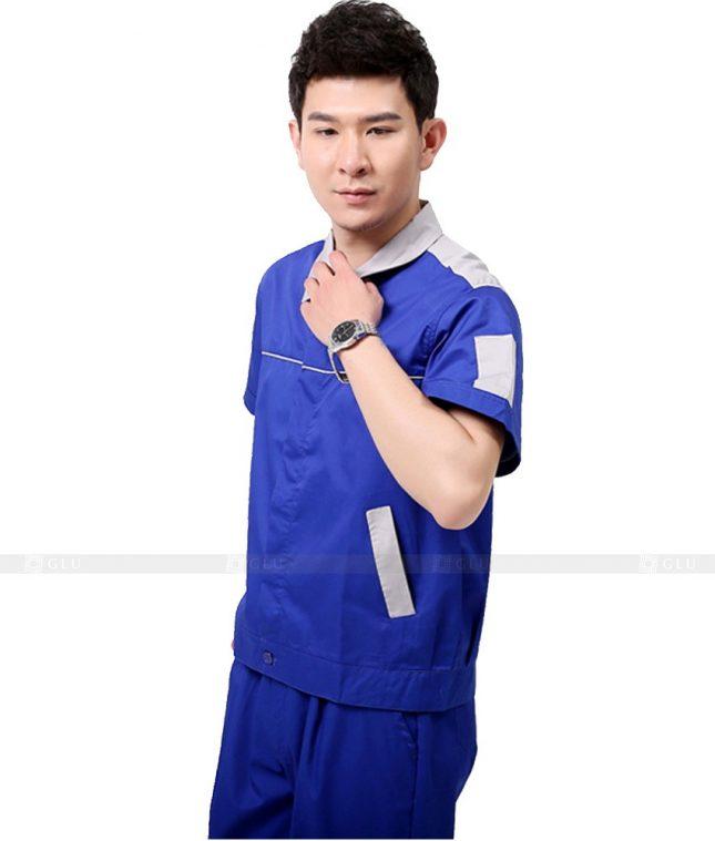 Dong phuc cong nhan GLU CN1031 mẫu áo công nhân