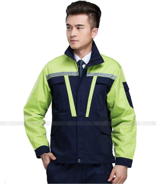 Dong phuc cong nhan GLU CN1032 mẫu áo công nhân