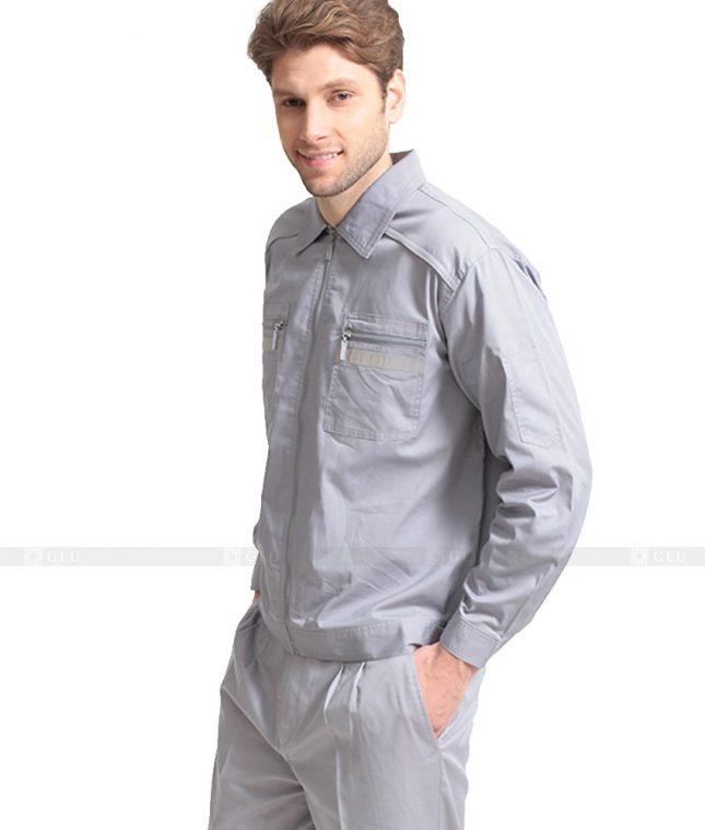 Dong phuc cong nhan GLU CN1033 mẫu áo công nhân