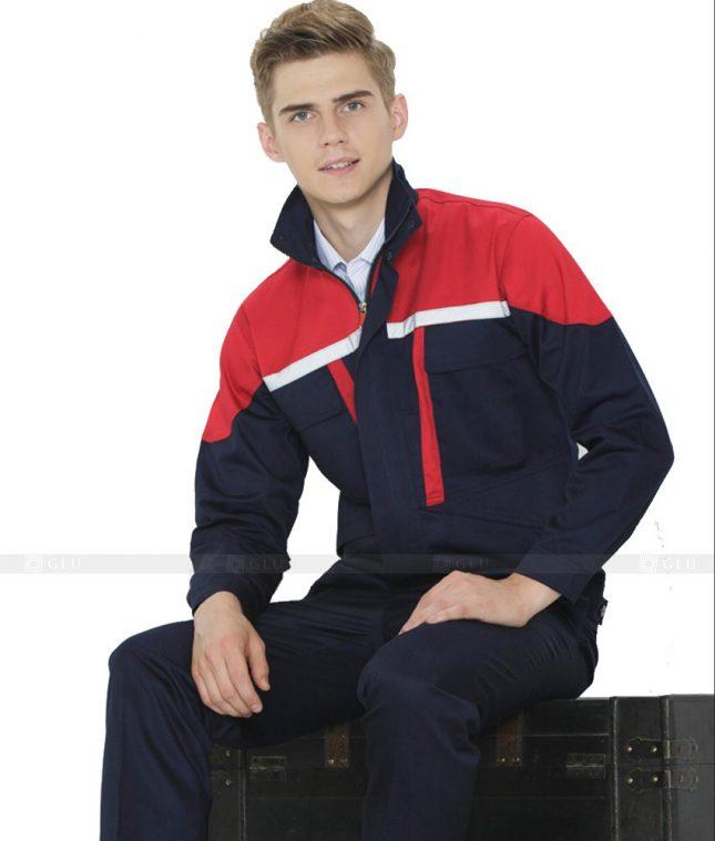 Dong phuc cong nhan GLU CN1034 mẫu áo công nhân