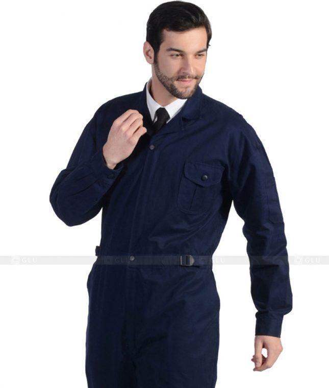 Dong phuc cong nhan GLU CN1035 mẫu áo công nhân