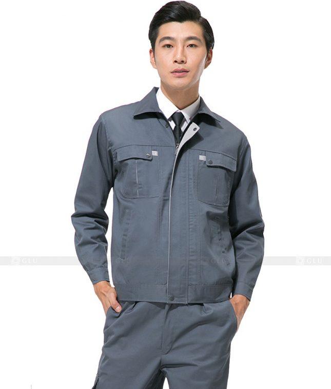 Dong phuc cong nhan GLU CN1037 mẫu áo công nhân