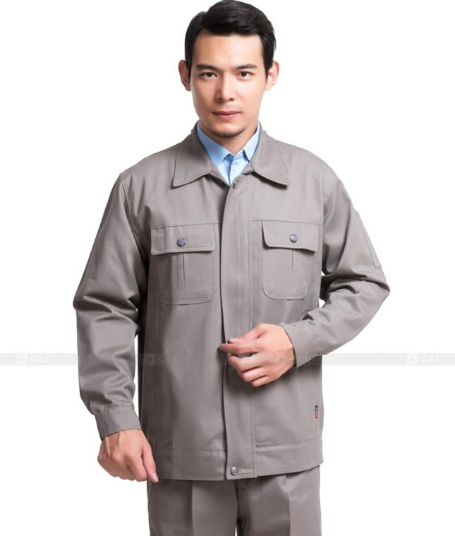 Dong phuc cong nhan GLU CN1040 mẫu áo công nhân