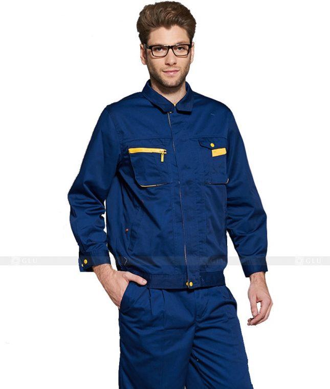 Dong phuc cong nhan GLU CN1043 mẫu áo công nhân
