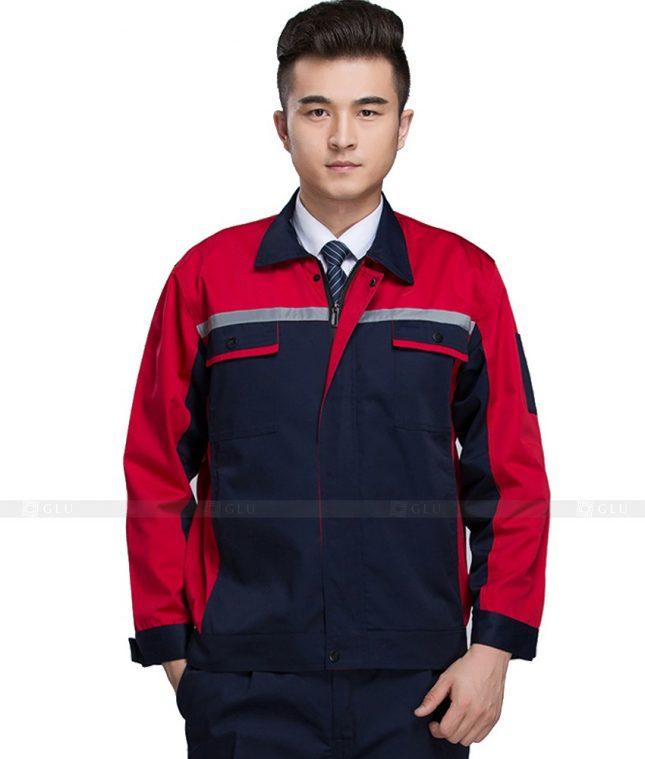 Dong phuc cong nhan GLU CN1044 mẫu áo công nhân
