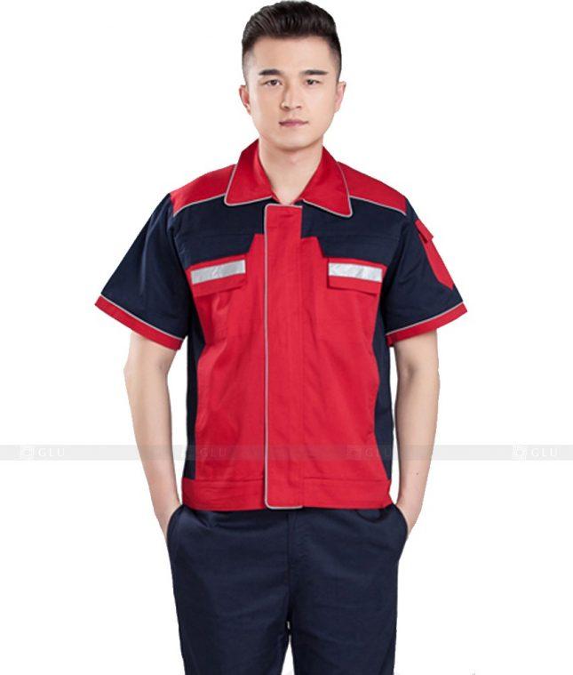 Dong phuc cong nhan GLU CN1046 mẫu áo công nhân