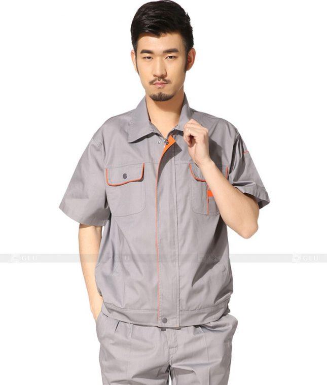 Dong phuc cong nhan GLU CN1048 mẫu áo công nhân