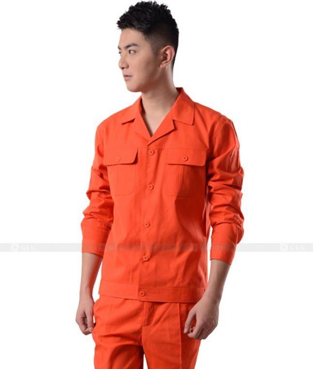 Dong phuc cong nhan GLU CN1049 mẫu áo công nhân
