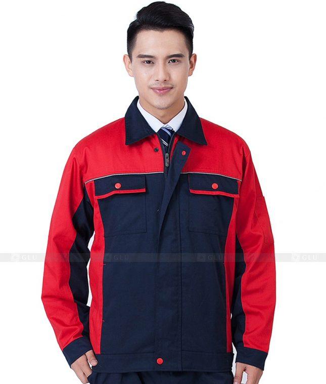 Dong phuc cong nhan GLU CN1050 mẫu áo công nhân