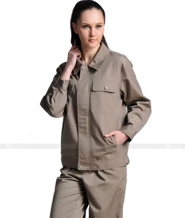 Dong phuc cong nhan GLU CN1052 mẫu áo công nhân