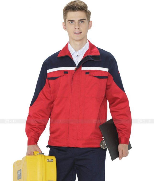 Dong phuc cong nhan GLU CN1053 mẫu áo công nhân