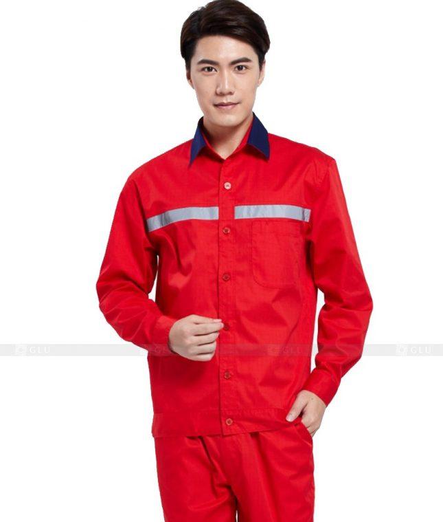 Dong phuc cong nhan GLU CN1054 mẫu áo công nhân