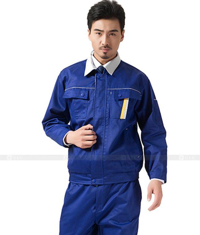 Dong phuc cong nhan GLU CN1055 mẫu áo công nhân
