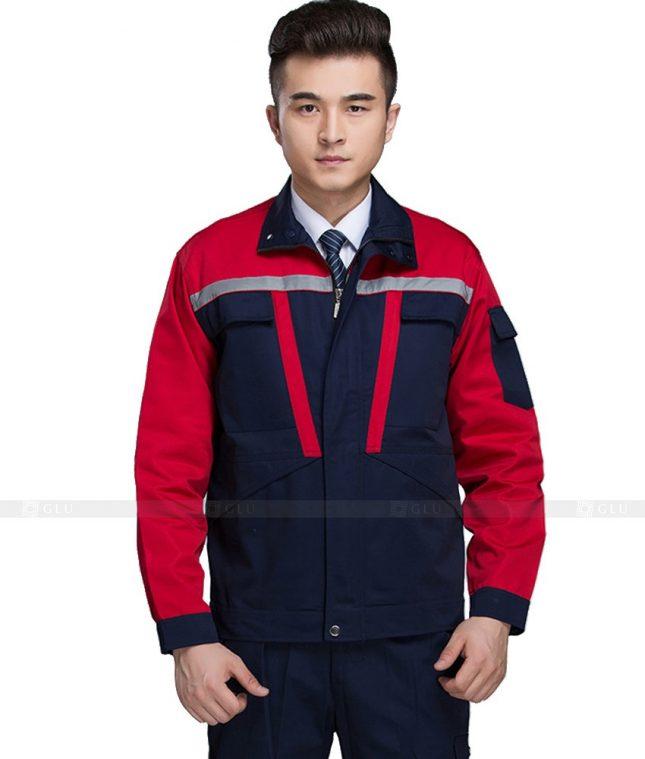 Dong phuc cong nhan GLU CN1056 mẫu áo công nhân