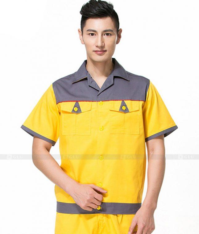 Dong phuc cong nhan GLU CN1057 mẫu áo công nhân