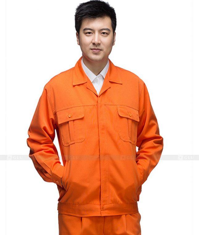 Dong phuc cong nhan GLU CN1058 mẫu áo công nhân