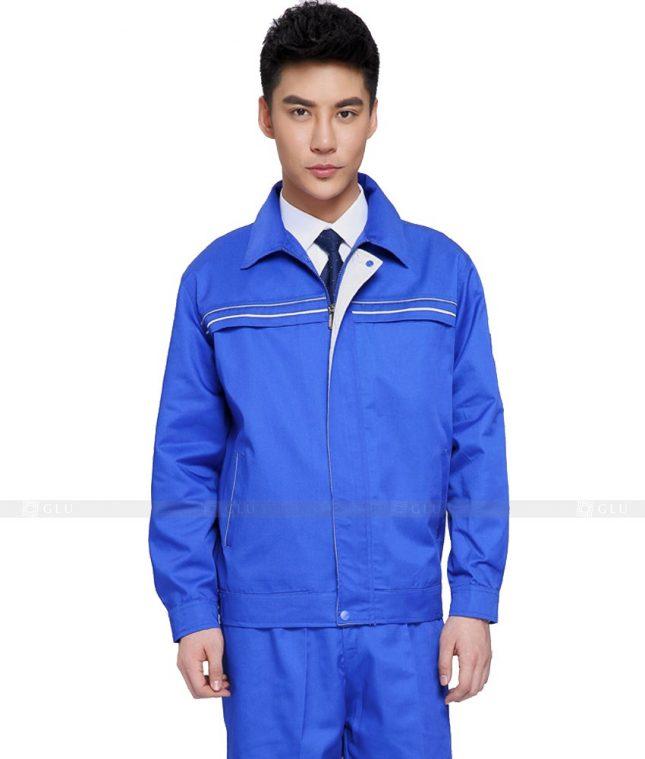 Dong phuc cong nhan GLU CN1059 mẫu áo công nhân