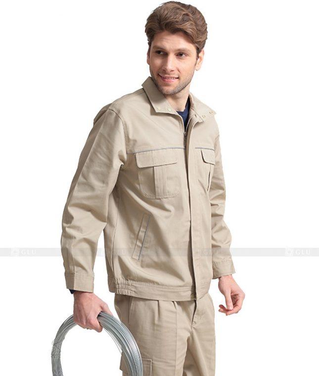 Dong phuc cong nhan GLU CN1062 mẫu áo công nhân