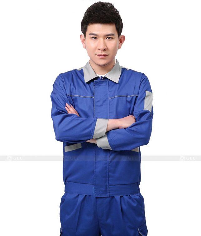 Dong phuc cong nhan GLU CN1065 mẫu áo công nhân