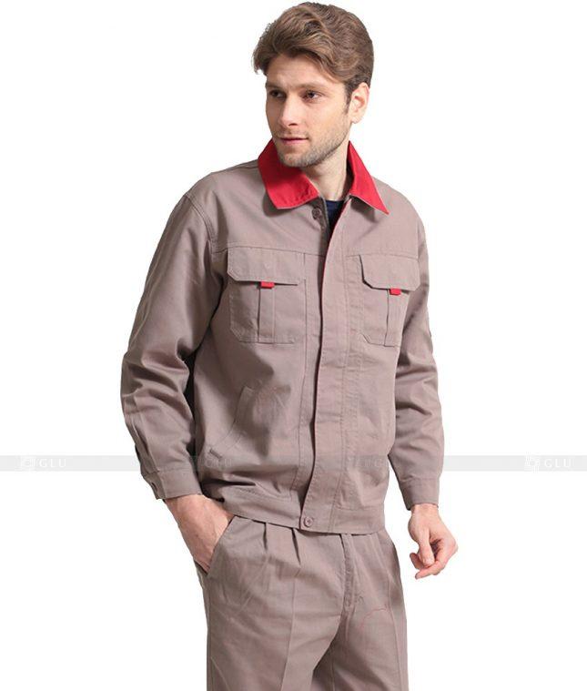 Dong phuc cong nhan GLU CN1068 mẫu áo công nhân