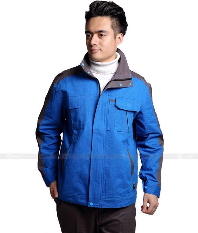 Dong phuc cong nhan GLU CN1072 mẫu áo công nhân