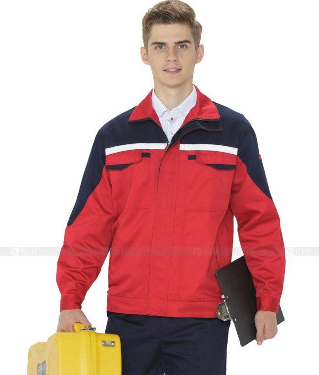 Dong phuc cong nhan GLU CN1073 mẫu áo công nhân