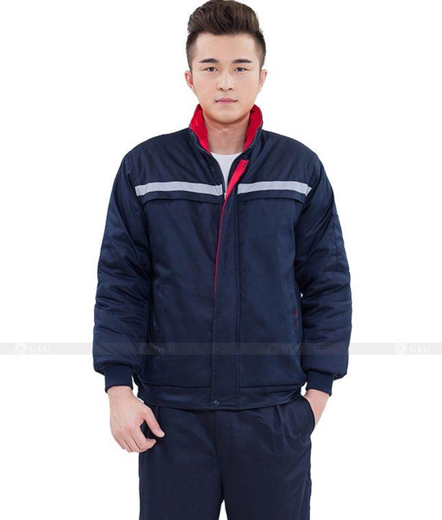 Dong phuc cong nhan GLU CN1077 mẫu áo công nhân