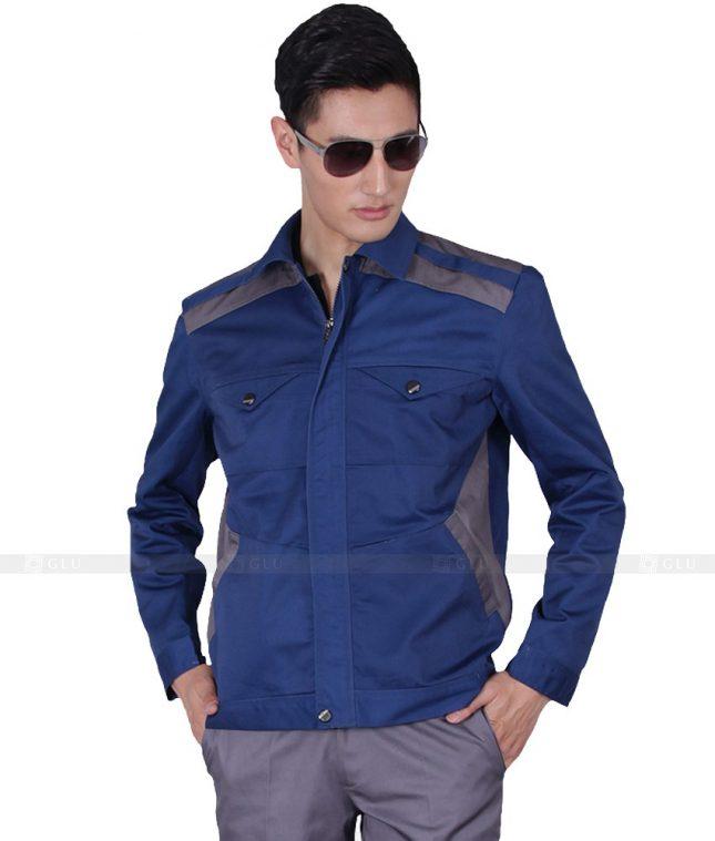Dong phuc cong nhan GLU CN1081 mẫu áo công nhân