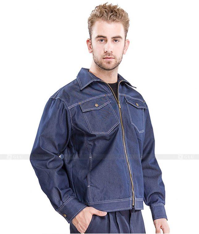 Dong phuc cong nhan GLU CN1082 mẫu áo công nhân