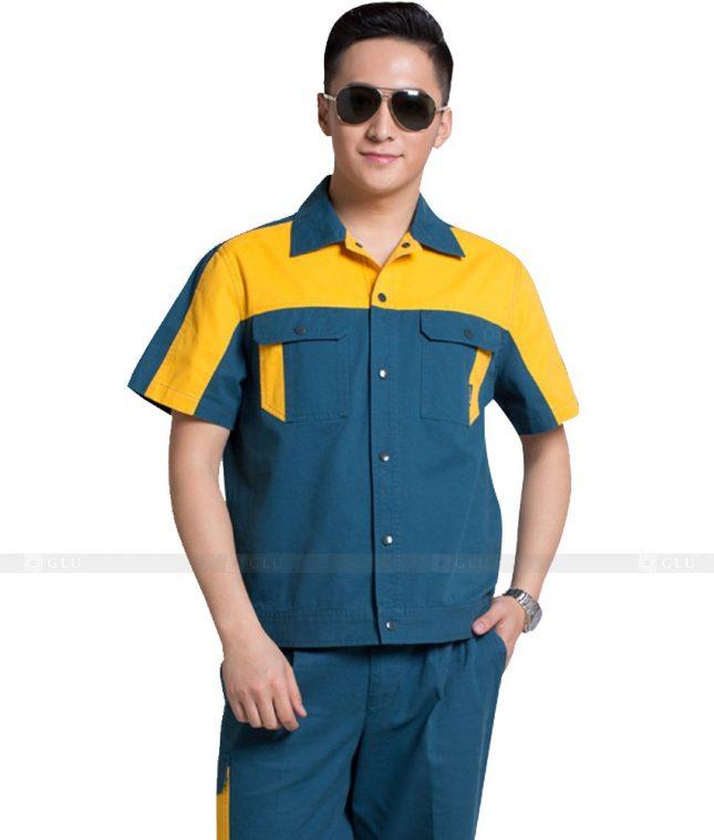 Dong phuc cong nhan GLU CN1083 mẫu áo công nhân