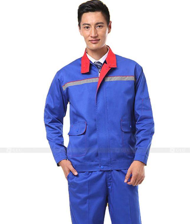 Dong phuc cong nhan GLU CN1085 mẫu áo công nhân