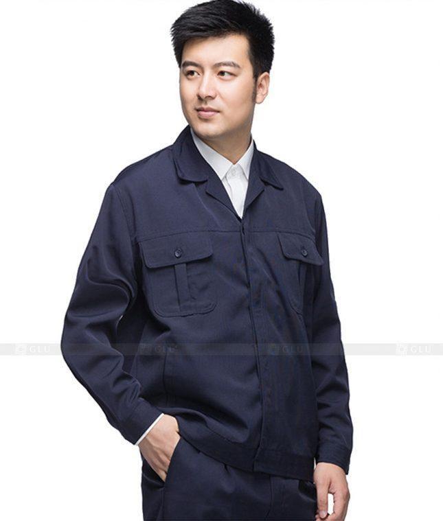 Dong phuc cong nhan GLU CN1086 mẫu áo công nhân
