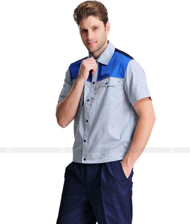 Dong phuc cong nhan GLU CN1088 mẫu áo công nhân
