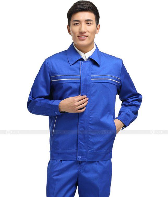 Dong phuc cong nhan GLU CN1091 mẫu áo công nhân