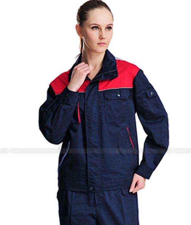 Dong phuc cong nhan GLU CN1093 mẫu áo công nhân