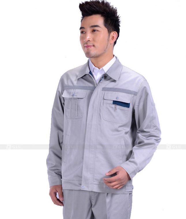 Dong phuc cong nhan GLU CN1095 mẫu áo công nhân