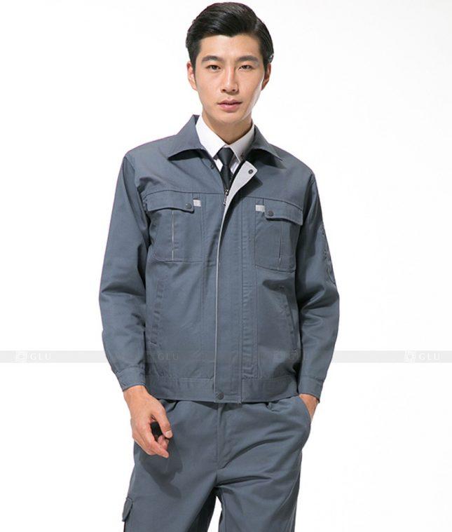 Dong phuc cong nhan GLU CN1097 mẫu áo công nhân