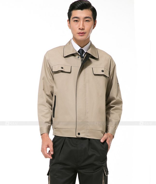 Dong phuc cong nhan GLU CN1098 mẫu áo công nhân